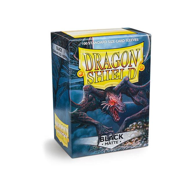 Dragon Shield: Matte Sleeves - Black