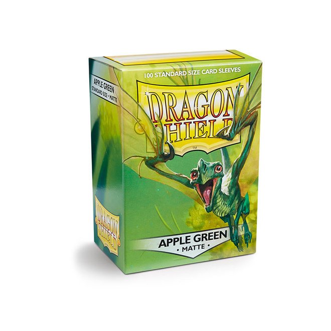 Dragon Shield: Matte Sleeves - Apple Green