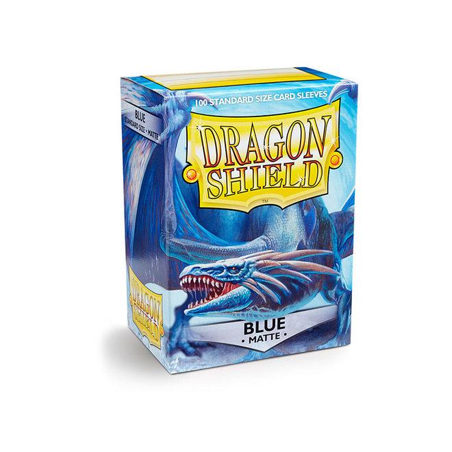 Dragon Shield: Matte Sleeves - Blue