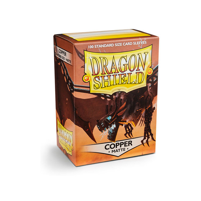 Dragon Shield: Matte Sleeves - Copper