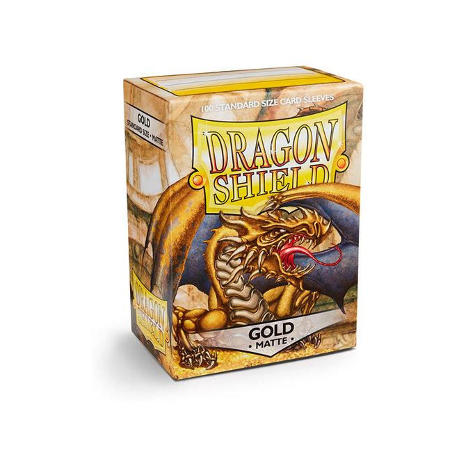 Dragon Shield: Matte Sleeves - Gold