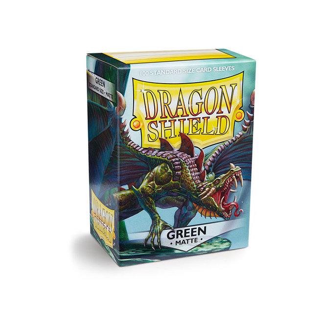 Dragon Shield: Matte Sleeves - Green