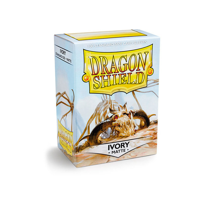 Dragon Shield: Matte Sleeves - Ivory