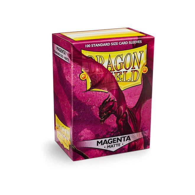Dragon Shield: Matte Sleeves - Magenta