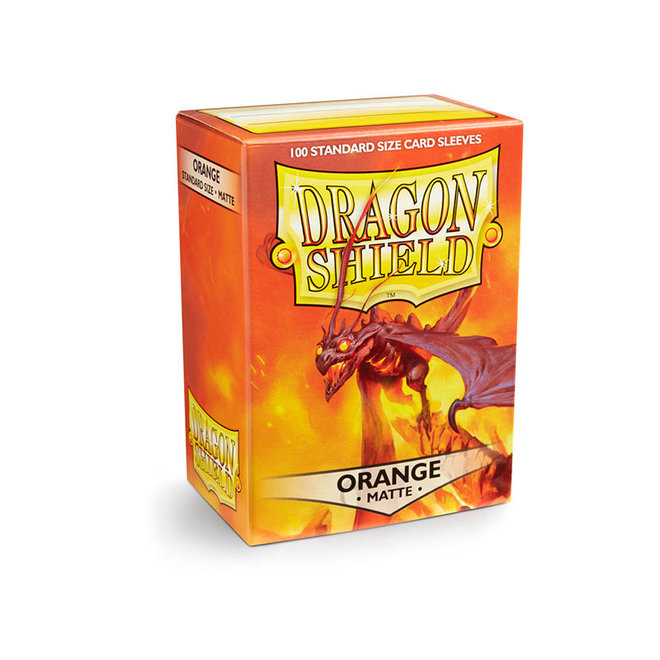 Dragon Shield: Matte Sleeves - Orange