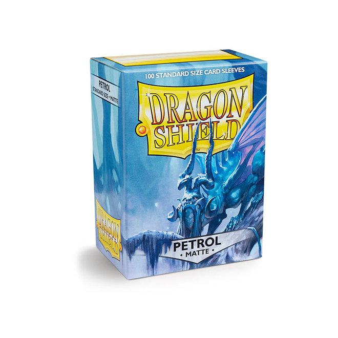 Dragon Shield: Matte Sleeves - Petrol