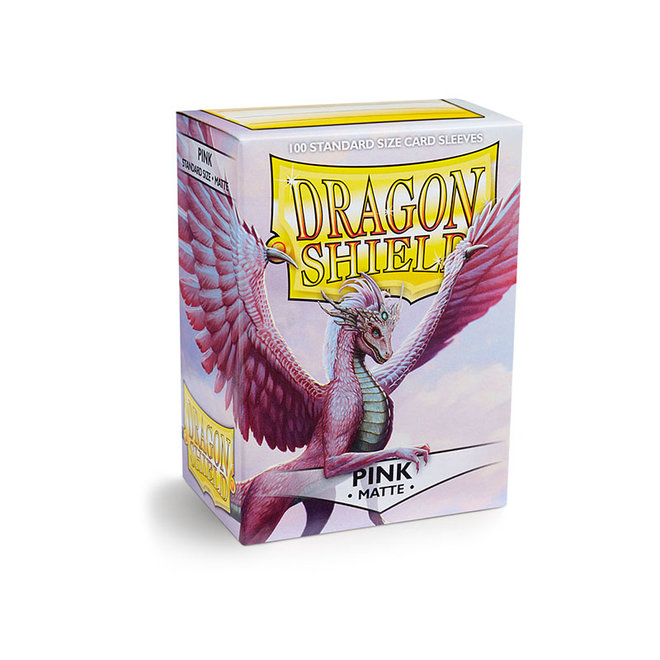 Dragon Shield: Matte Sleeves - Pink