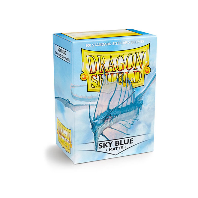 Dragon Shield: Matte Sleeves - Sky Blue