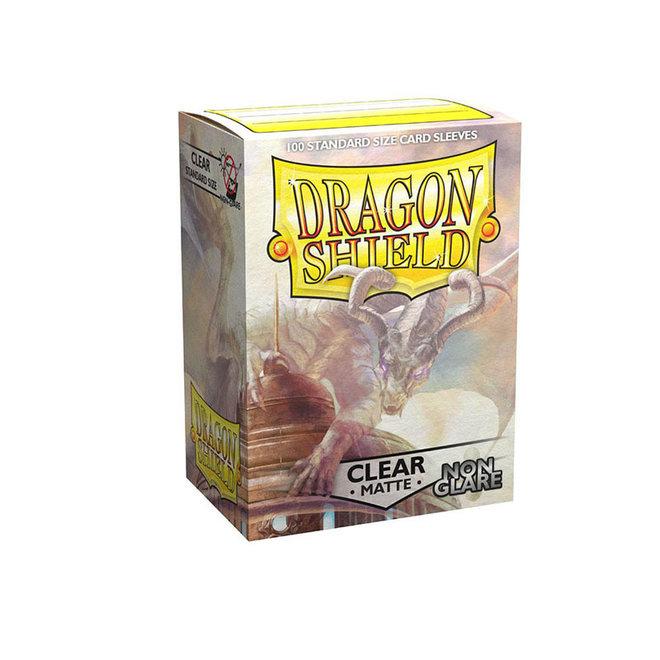Dragon Shield: Matte Non-Glare Sleeves - Clear