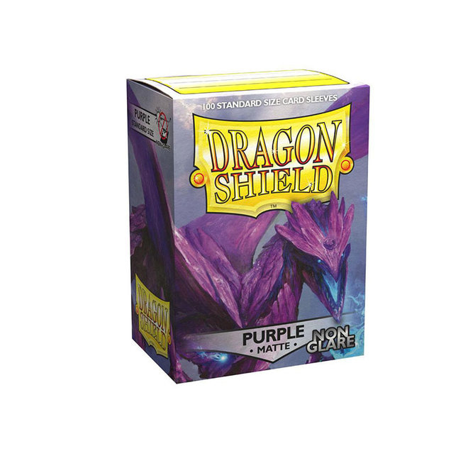 Dragon Shield: Matte Non-Glare Sleeves - Purple