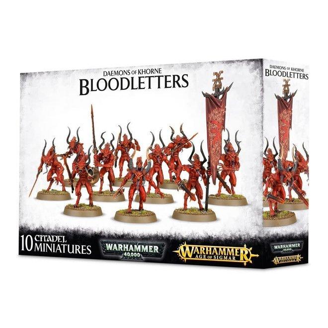 Daemones of Khorne - Bloodletters