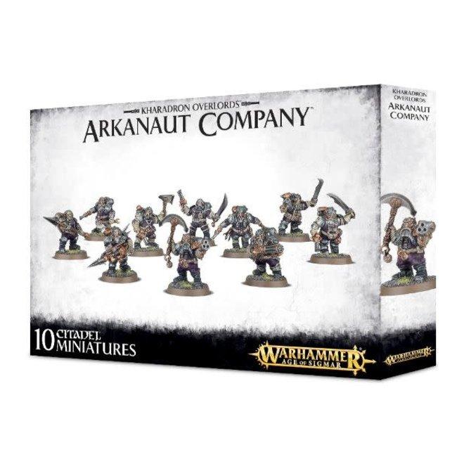 Kharadron Overlords - Arkanaut Company