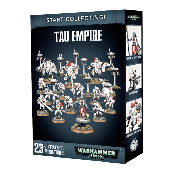 Start Collecting! - Tau Empire