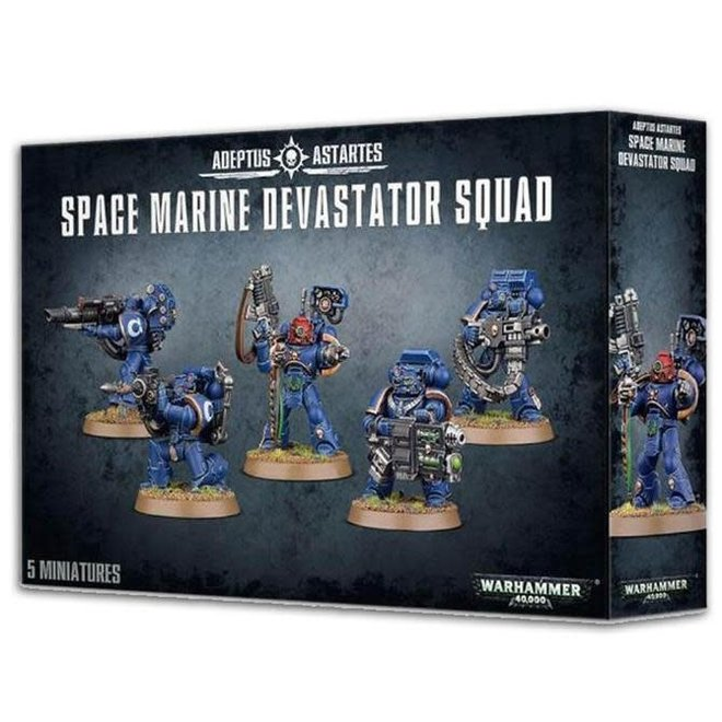 Space Marines - Devastator Squad