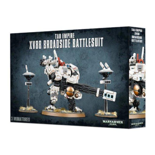 Tau Empire - XV88 Broadside Battlesuit