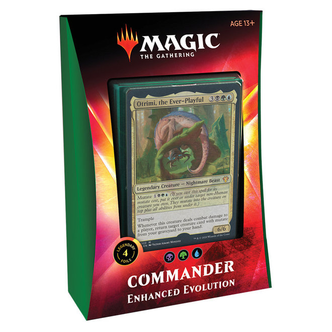 MtG: Ikoria Commander - Enhanced Evolution