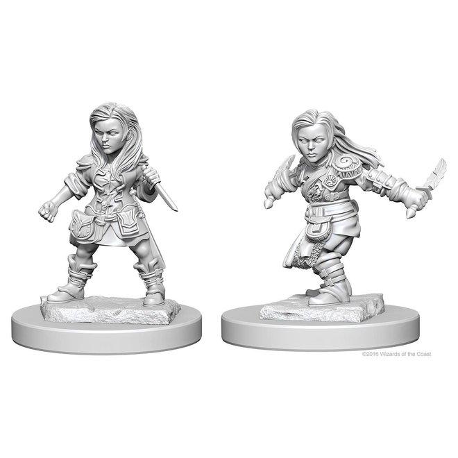 D&D: Halfling Rogue - Female