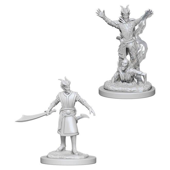D&D: Tiefling Warlock - Male