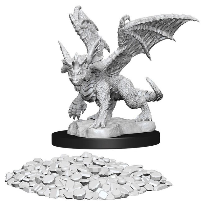 D&D: Blue Dragon Wyrmling