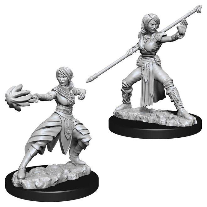 D&D: Half-Elf Monk - Female