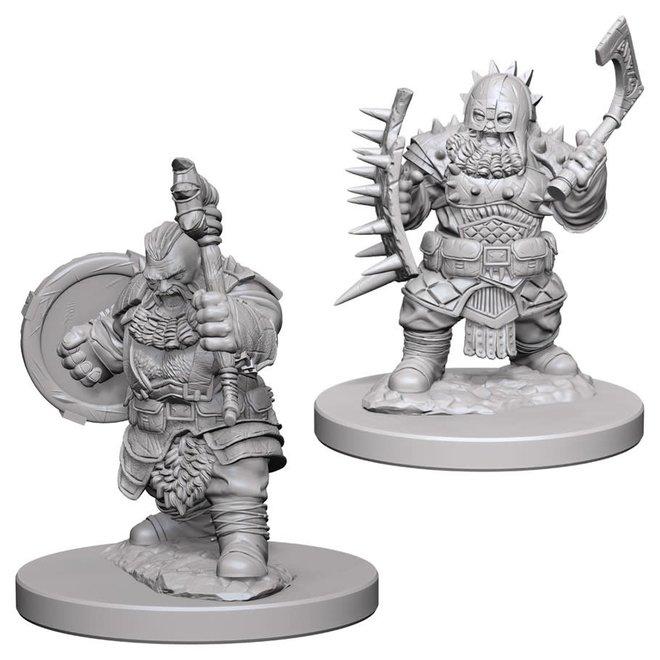 Pathfinder: Dwarf Barbarian - Male