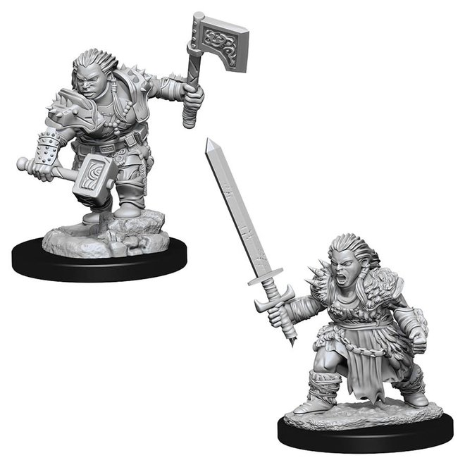 Pathfinder: Dwarf Barbarian - Female
