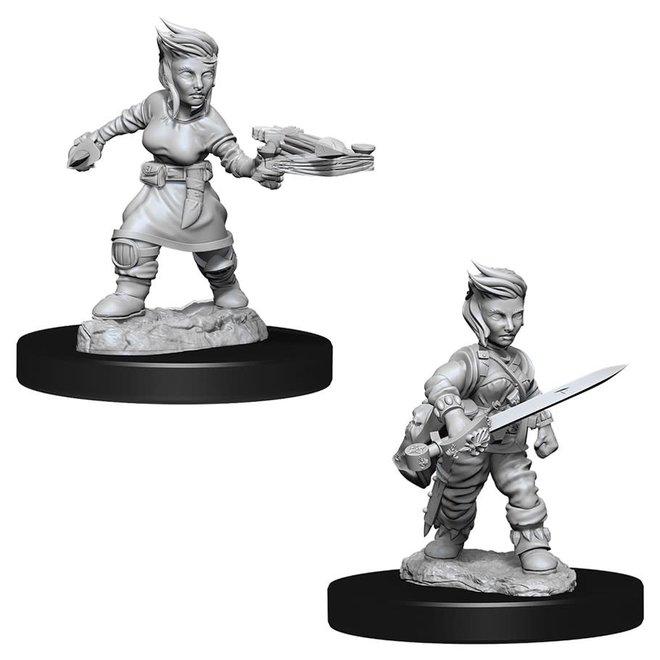 Pathfinder: Halfling Rogue - Female
