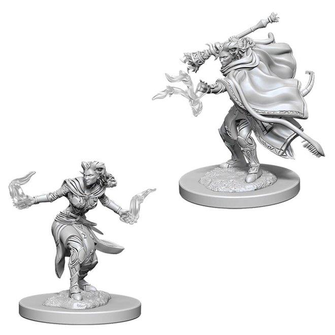 D&D: Tiefling Warlock - Female