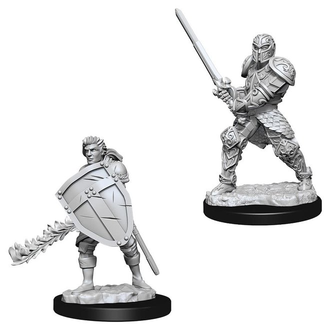D&D: Human Fighter - Male