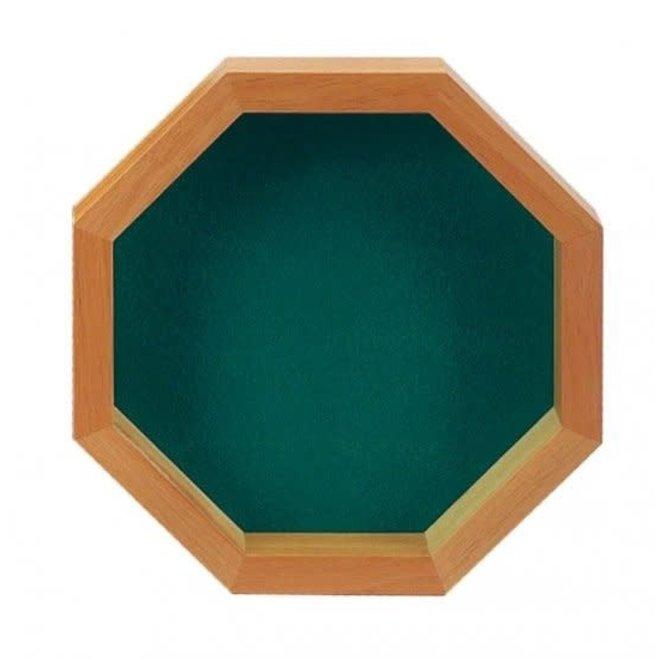 Dice Tray - Octagon Wood