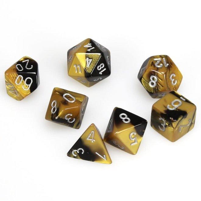 Gemini - Black, Gold, & Silver