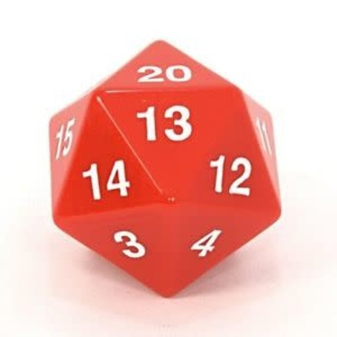 D20 Countdown 55mm - Red & White