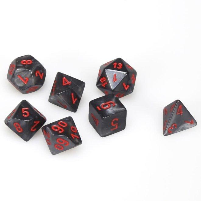 Velvet - Black & Red