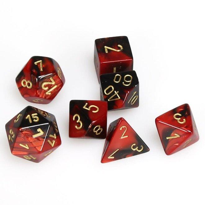 Gemini - Black, Red, & Gold
