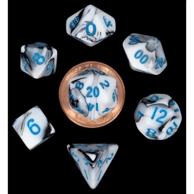 Mini: Marble - Black, White, & Blue