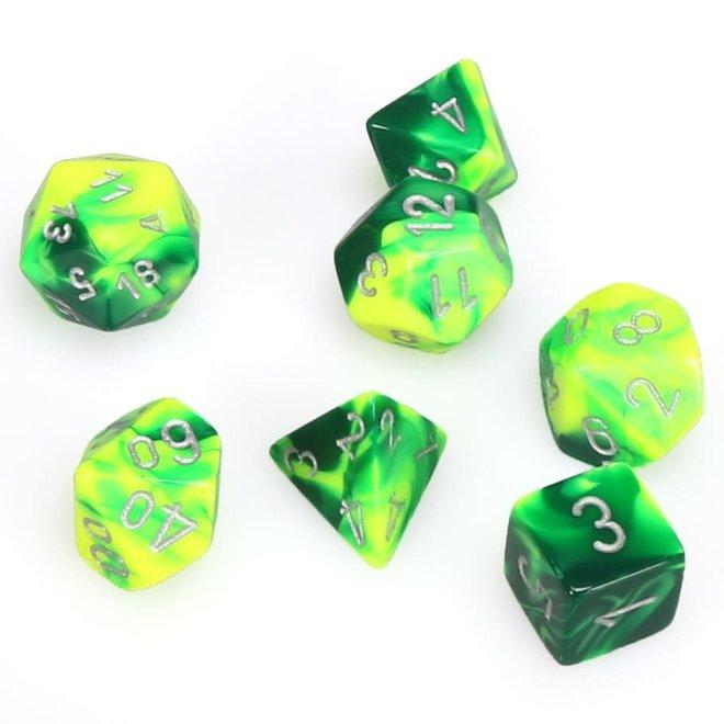 Gemini - Green, Yellow, & Silver
