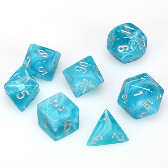 Cirrus - Aqua & Silver