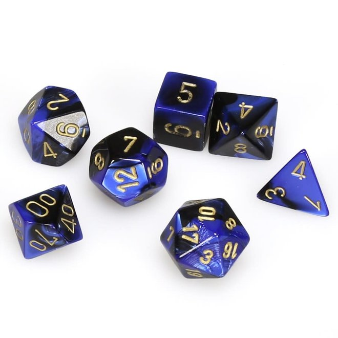 Gemini - Black, Blue, & Gold