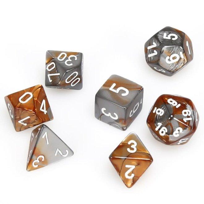 Gemini - Copper, Steel, & White