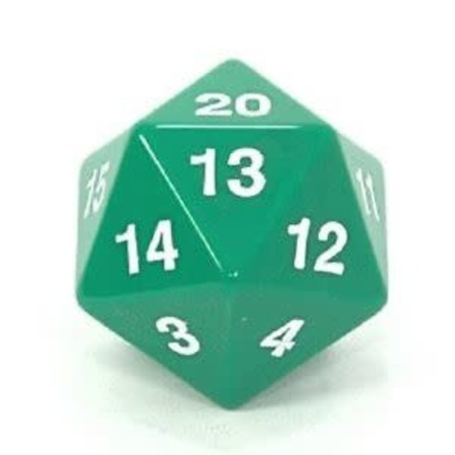 D20 Countdown 55mm  - Green & White