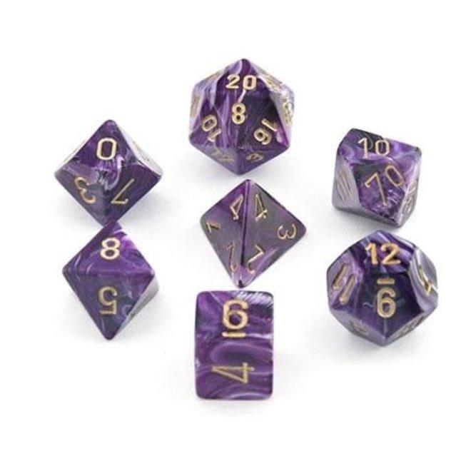Vortex - Purple & Gold