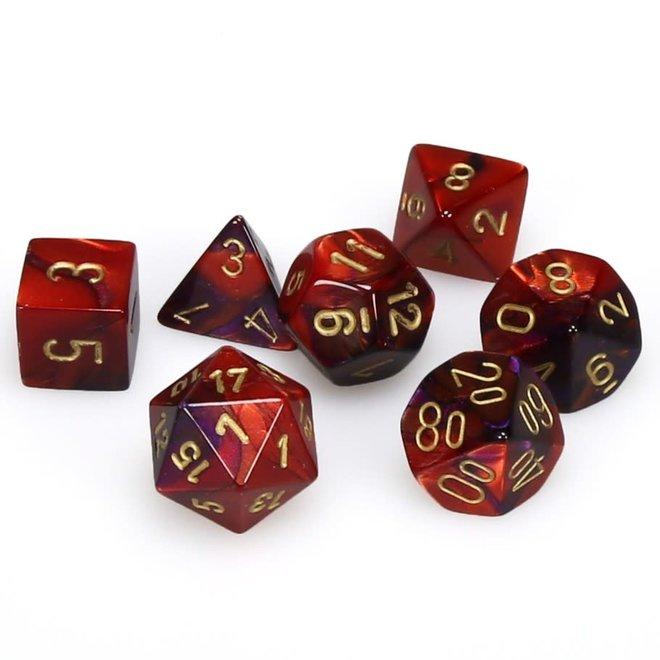 Gemini - Purple, Red, & Gold