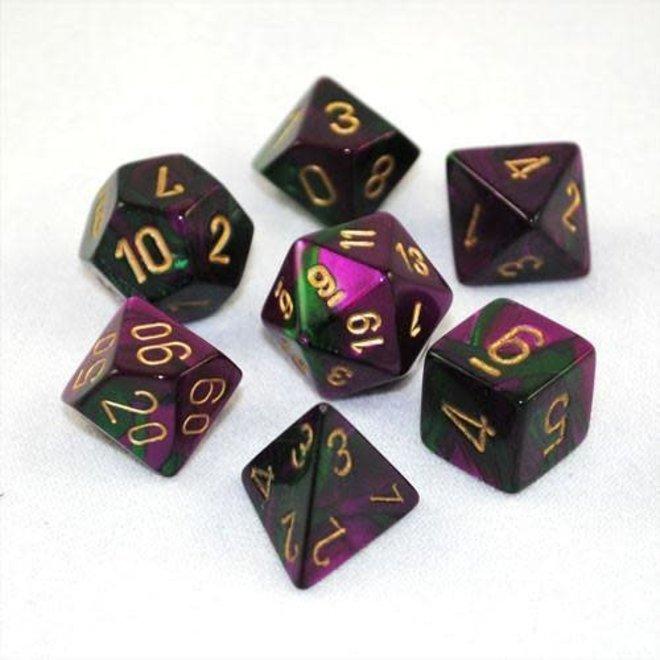 Gemini - Green, Purple, & Gold