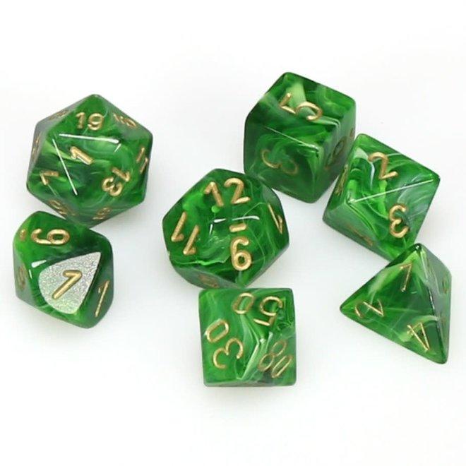 Vortex - Green & Gold
