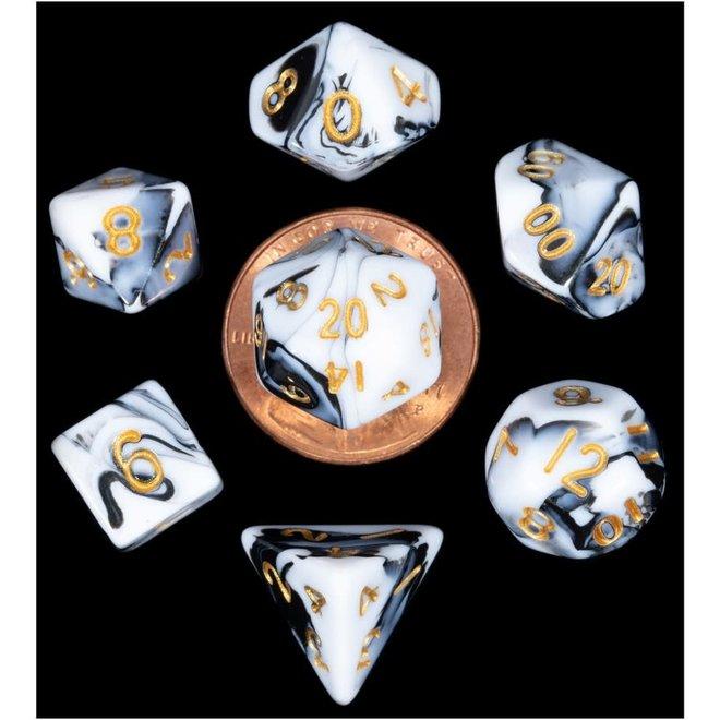 Mini: Marble - Black, White, & Gold