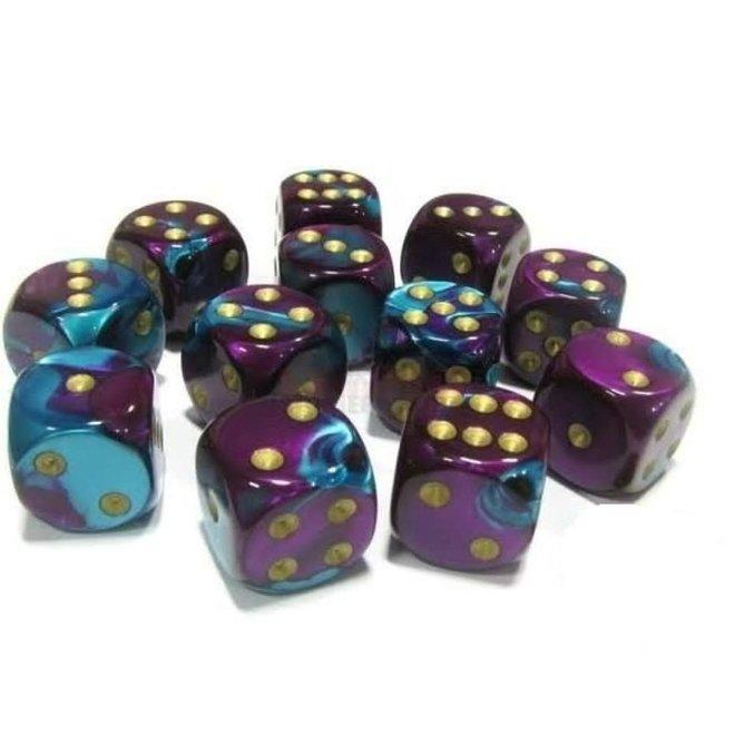 Gemini - Purple, Teal, & Gold (12)