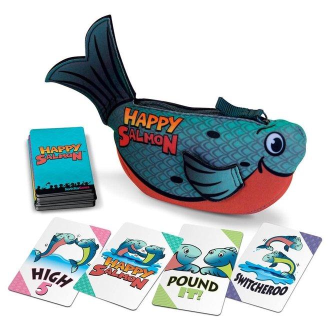 Happy Salmon - Blue Fish