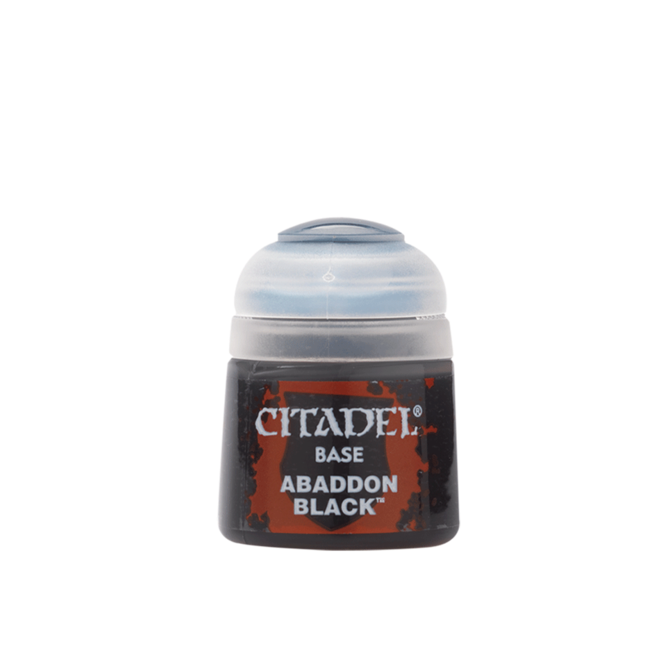 Citadel Base - Abaddon Black