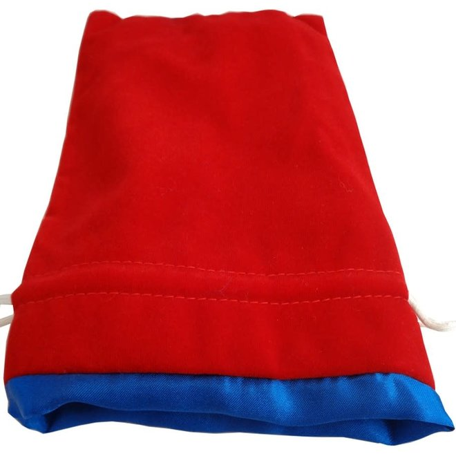 Dice Bag (Lg) - Red & Blue