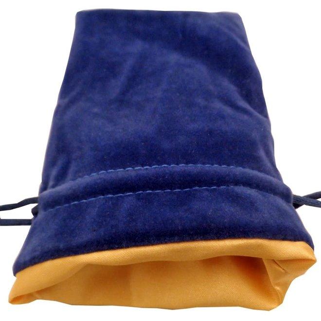 Dice Bag (Sm) - Blue & Gold